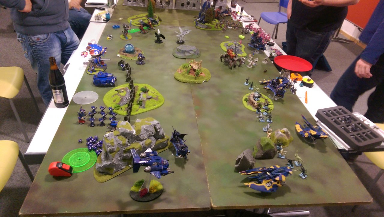 Spacemarines vs. Chaos vs. Eldar